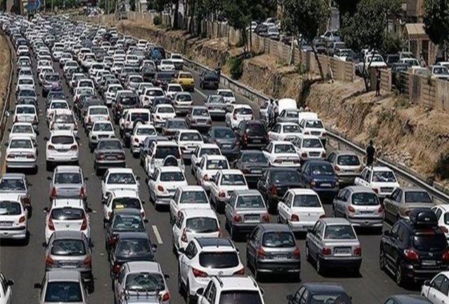 ترافیک سنگین در آزاد راه تهران-کرج/محور قزوین -همدان مسدود است