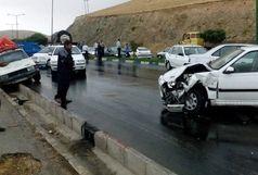 تصادف زنجیره ای در جاده گرمسار- ایوان کی / 78 نفر مصدوم شدند