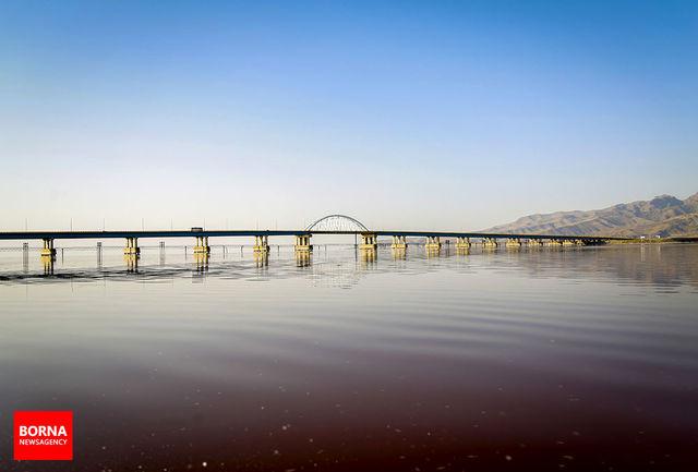 تراز دریاچه ارومیه به  ۱۲۷۱.۳۵ رسید