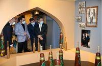 سفیر ژاپن از موزه ملی ورزش المپیک و پارالمپیک بازدید کرد