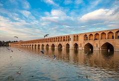 زایندهرود دوباره در اصفهان جاری شد