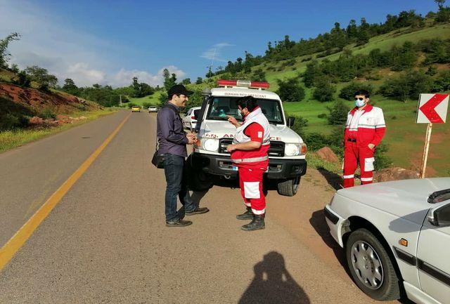 زوج گمشده در منطقه رحمت آباد رودبار پیدا شدند