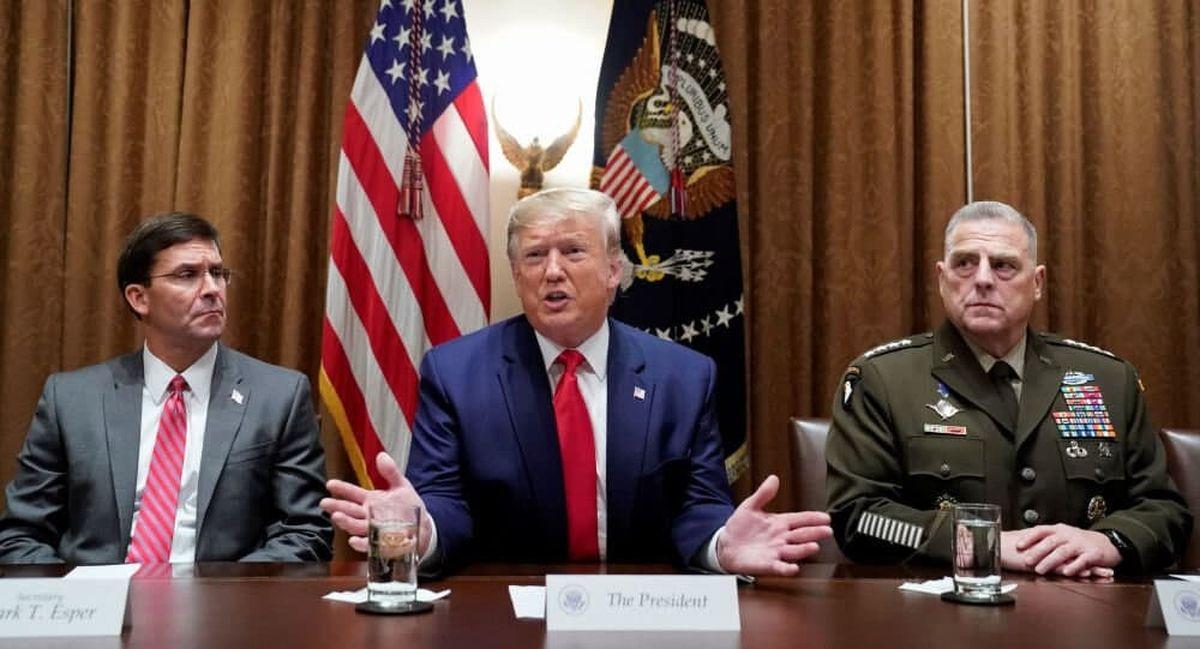 فرماندهان ارتش آمریکا نگران کودتای ترامپ بودند