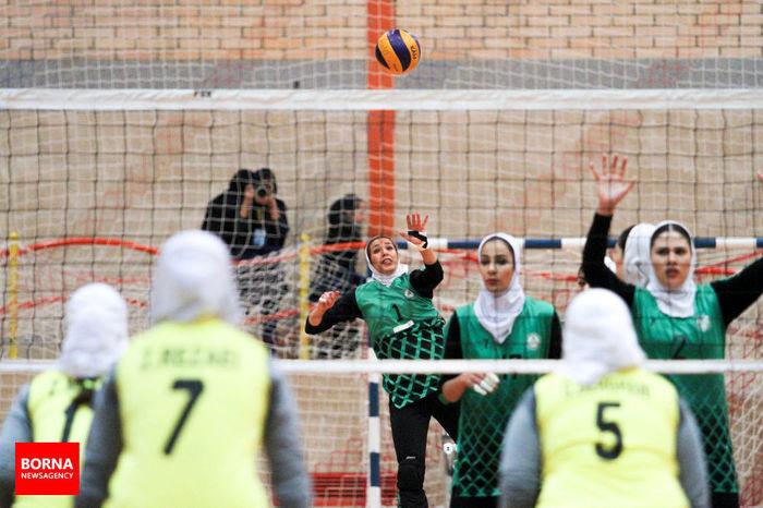 اولین تجربه لیگ برتری دختران شهرداری قزوین