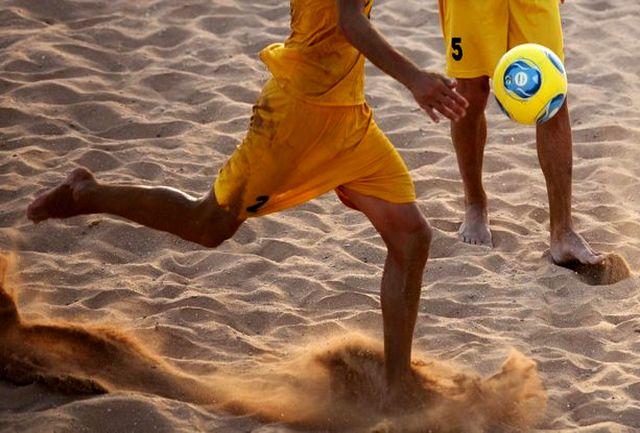 حضور هاشمپور در یک دیدار از هفته دوم لیگ برتر ساحلی