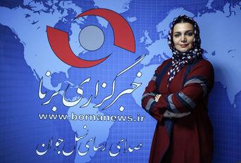 حضور الهام پاوه نژاد در خبرگزاری برنا