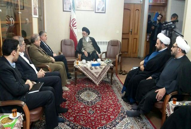 دیدار وزیر فرهنگ و ارشاد اسلامی با امامجمعه اصفهان