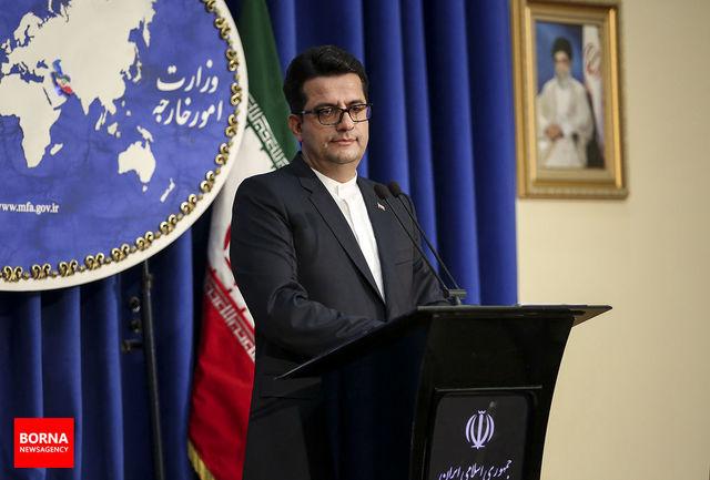 واکنش وزارت خارجه ایران به حادثه نفتکش های دریای عمان