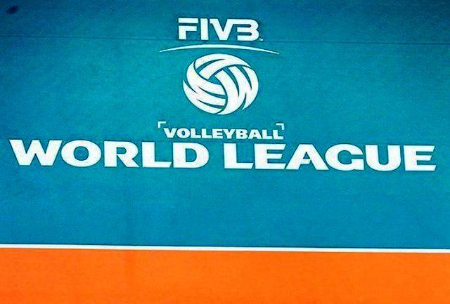 اعلام برنامه دومین روز هفته سوم لیگ جهانی والیبال