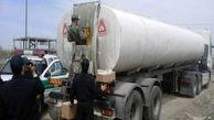 قاچاق سوخت با کامیون در بندرعباس