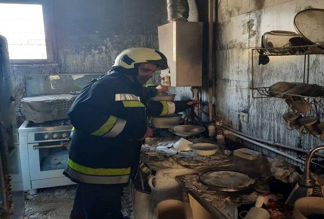 سوختگی دختر جوان در انفجار هولناک+ عکس