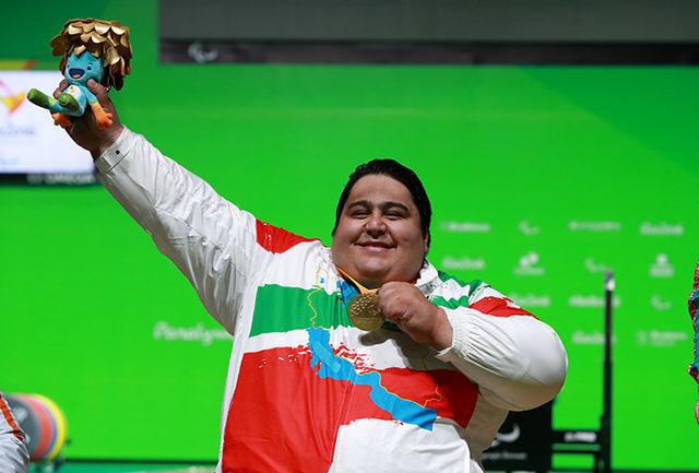 تمجید پیج رسمی پارالمپیک از سیامند رحمان+عکس