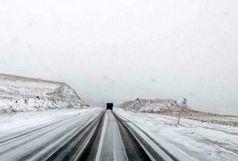 بارش برف و باران و وقوع کولاک در قزوین