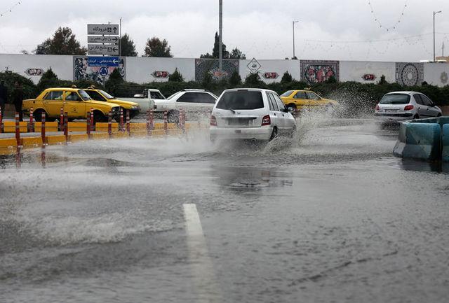 بارش های پاییزی در استان