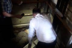 سقوط کارگر ۲۸ ساله از طبقه ششم در چاه آسانسور شهرک دانشگاه اهواز
