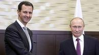 بشار اسد و پوتین در کاخ کرملین دیدار کردند