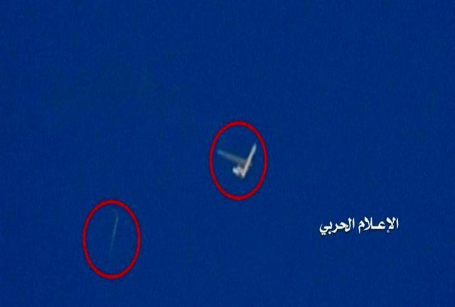 انهدام یک پهپاد جاسوسی ائتلاف سعودی در الحدیده+عکس