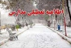 سرما و یخبندان مدارس استان را تعطیل کرد