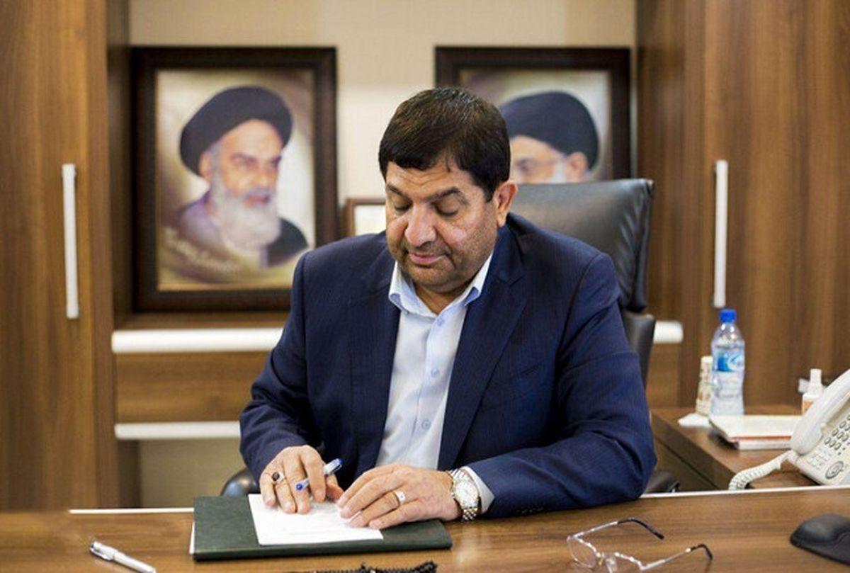پیام تبریک معاون اول رییس جمهوری در پی درخشش تیم ملی کشتی فرنگی ایران
