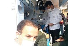 آتش سوزی در شهرک شهید سلیمی آذرشهر هفت مصدوم برجای گذاشت
