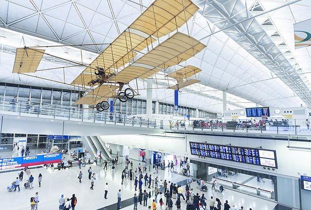 فرودگاه هنگکنگ بار دیگر فعالیت خود را از سر گرفت