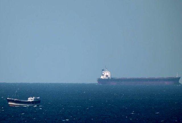 کشتی اسرائیلی در دریای عمان