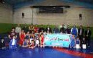 مسابقات کشتی آزاد نوجوانان در شهرستان سرعین برگزار شد