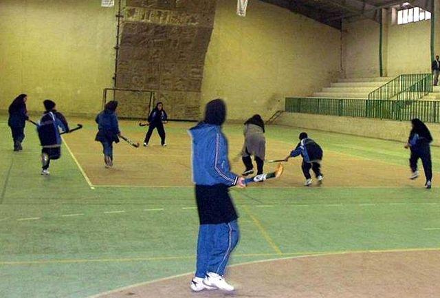 مسابقات نهایی لیگ برتر هاکی بانوان برگزار می شود