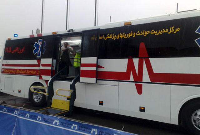 استقرار آمبولانس و آمادهباش مراکز درمانی در پی آلودگی هوا