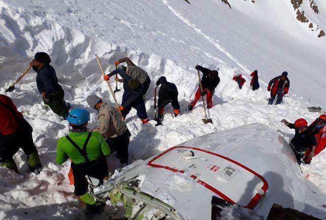 هویت 37 نفر دیگر از جانباختگان سانحه هوایی پرواز تهران - یاسوج مشخص شد