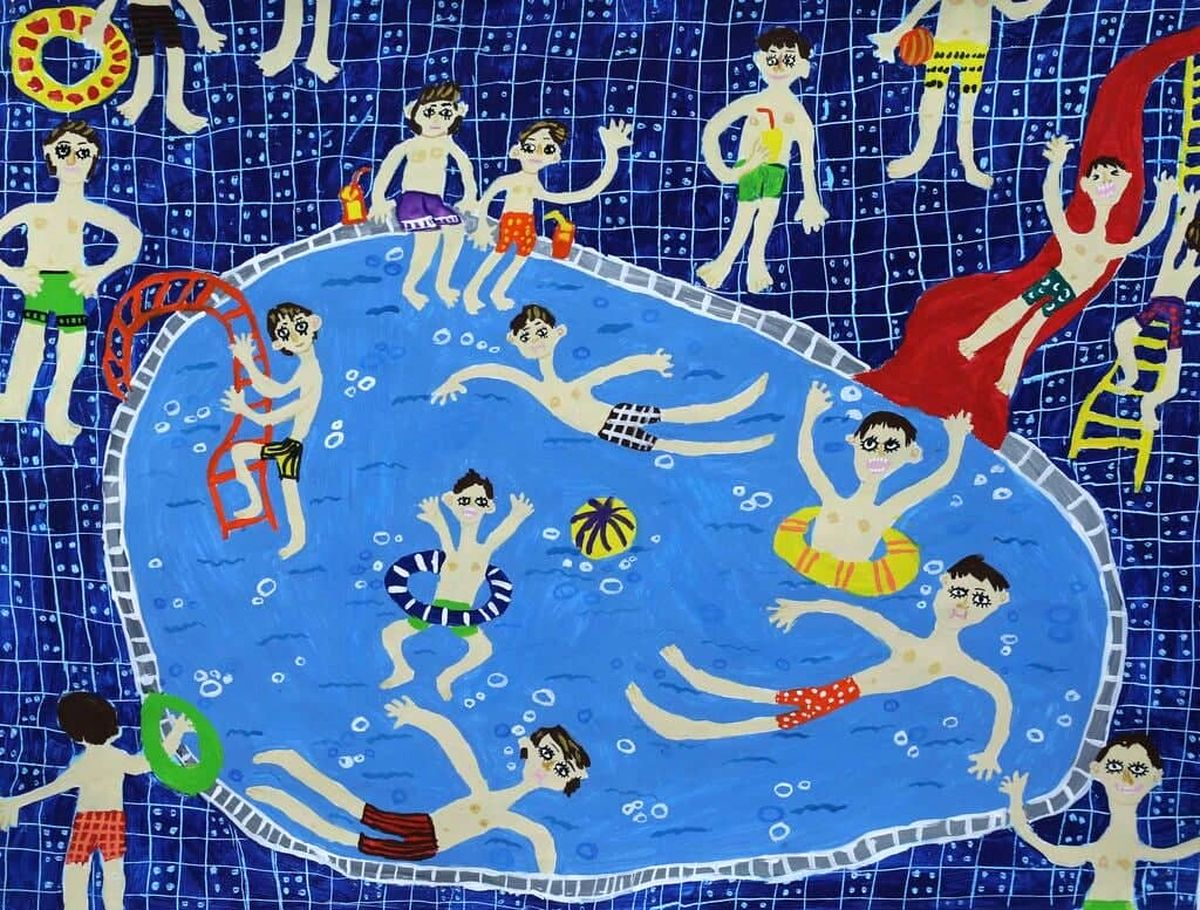 افتخارآفرینی عضو کانون پرورش فکری لرستان  در المپیاد هنری آمریکا