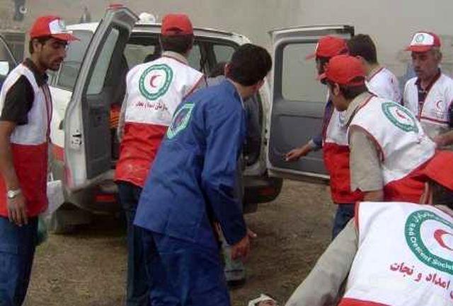 نجات کوهنورد بروجردی پس از انجام ۱۵ ساعت عملیات امداد در نهاوند