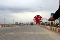 تردد خودروهای شخصی بین شهرهای استان در پایان هفته جاری ممنوع شد