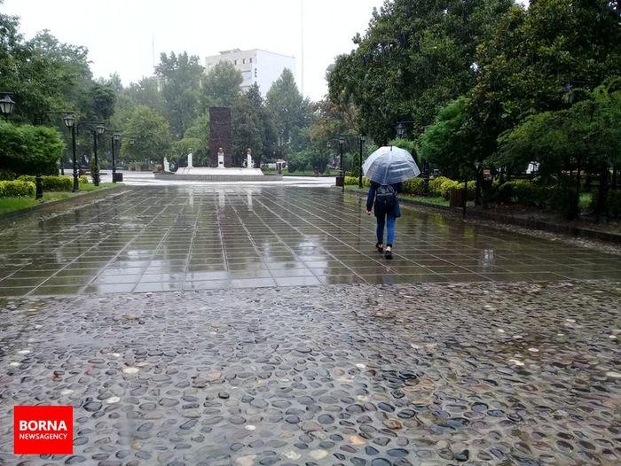 هوا طی روزهای دوشنبه و سهشنبه بارانی میشود