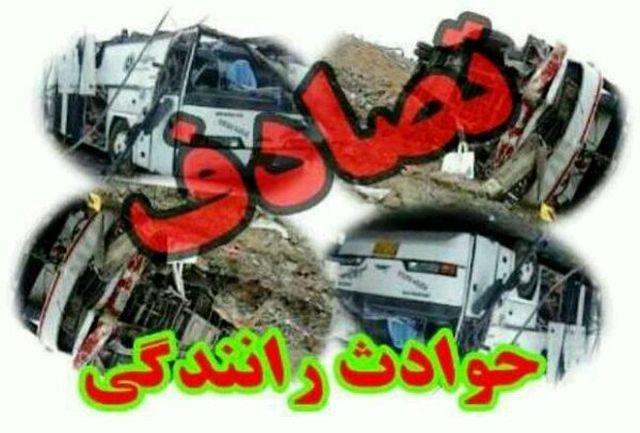 تصادفات جنوب سیستان و بلوچستان ۲۹ مجروح برجا گذاشت