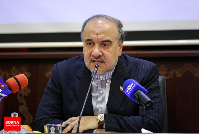 پست وزیر ورزش و جوانان درباره شعار تیم ملی ایران در جام جهانی روسیه