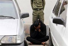 کشف خودرو سرقتی و دستگیری سارق در همدان