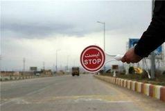 مسیر جاده سلامت به سمت الموت روز جمعه مسدود است