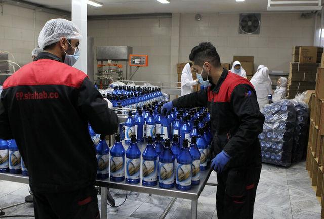 فعالیت واحدهای تولیدی مواد ضدعفونی در قزوین آغاز میشود