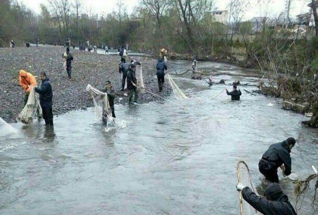 صید ماهی از روخانه گاماسیاب نهاوند ممنوع است