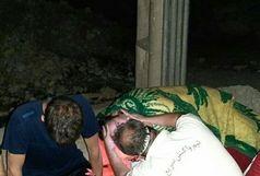 نجات 6 گردشگرهمدانی  در تنگه هلت پلدختر