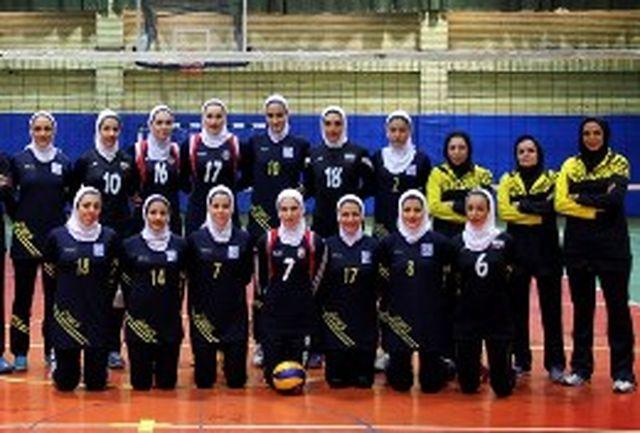 متین ورامین نماینده ایران در باشگاههای زنان آسیا شد