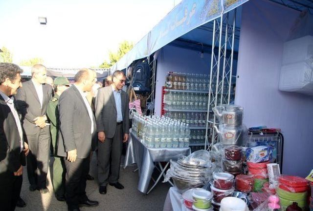راه اندازی بازارچه خیریه رمضان در تبریز با هدف توانمندی مددجویان