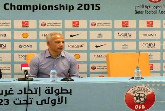 خاکپور: برای نتیجه گرفتن باید صبور بود/ از الان به قطر فکر میکنیم