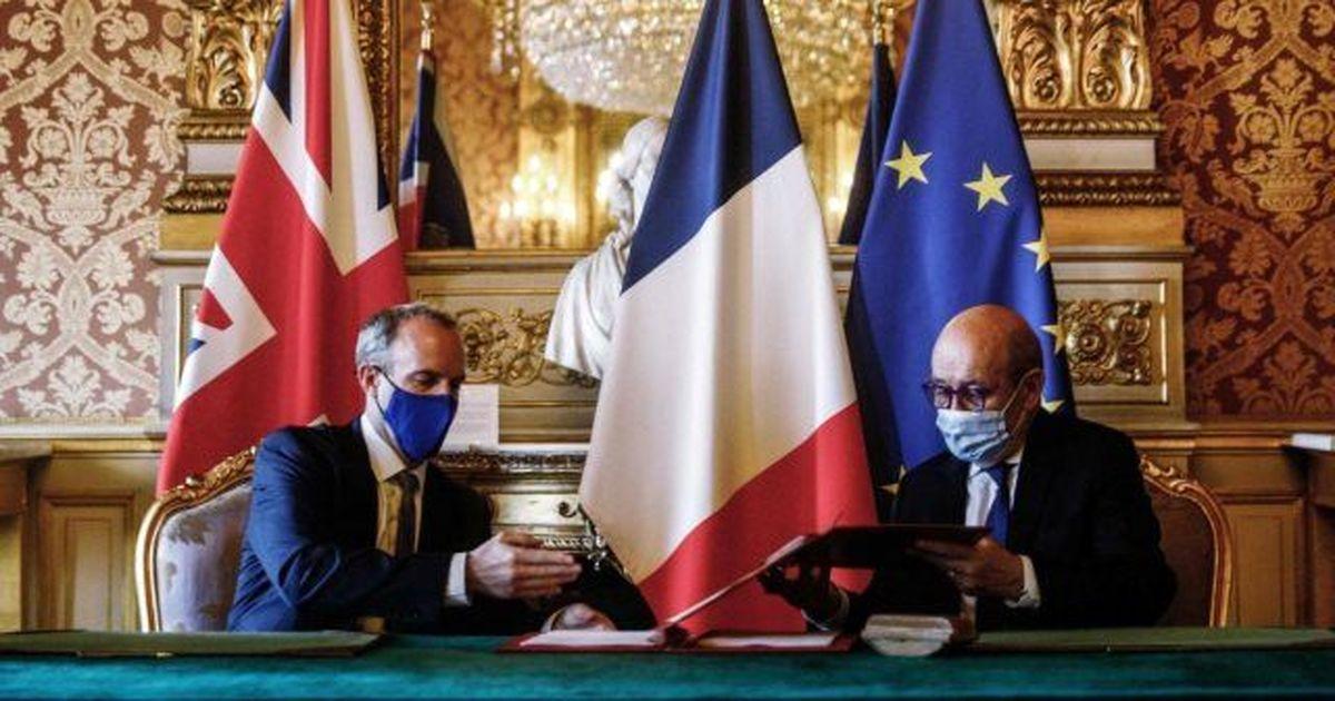 توافقنامه امنیتی انگلیس و فرانسه + جزئیات