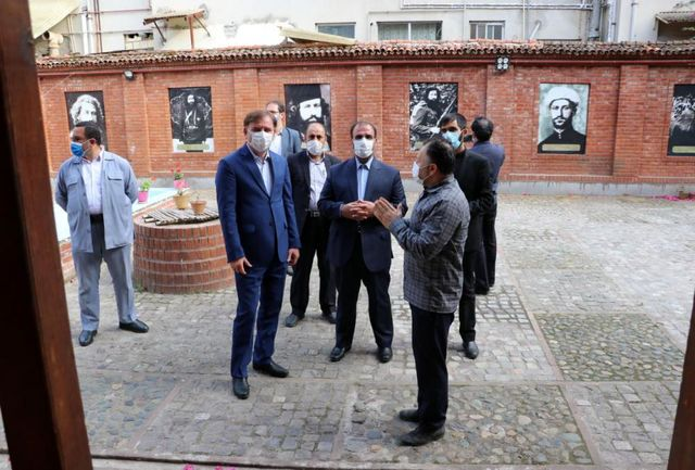 ادای احترام معاون رئیسجمهوری به سردارجنگل