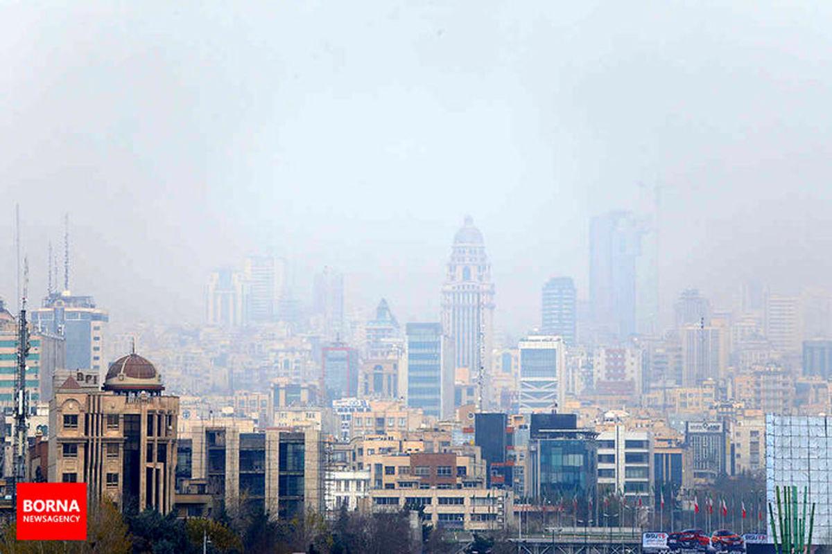 جزئیاتی از آلودگی هوا تهران