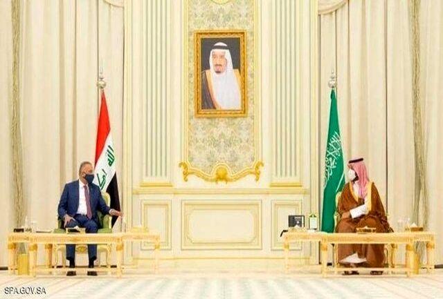 توافق الکاظمی و محمد بن سلمان برای تقویت همکاری و تأسیس صندوق مشترک