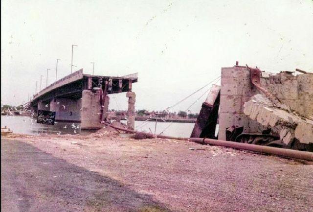 پل قدیم خرمشهر ثبت ملی شد