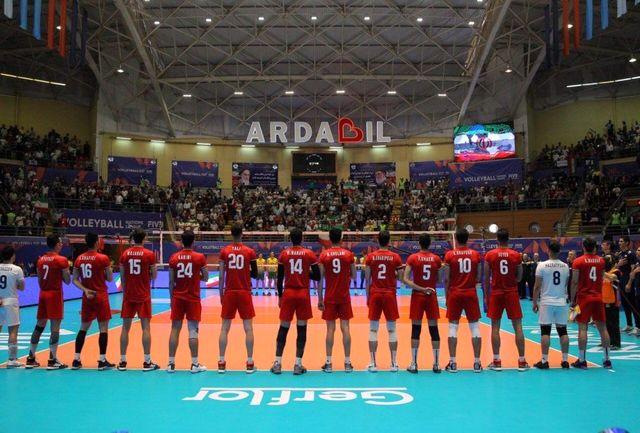 انعکاس قهرمانی تیم ملی والیبال ایران در مسابقات قهرمانی آسیا